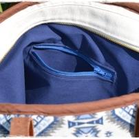 Poche zippée intérieur sac Spirit