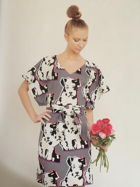 Robe kimono Dressing chic